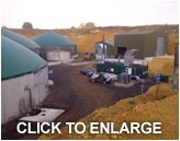 Anaerobic digester food waste infeed system