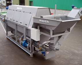 Biomass washing system - static or mobile systems available